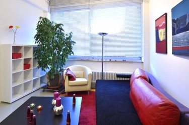 Wohnzimmer Ferienwohnung Ravensburg